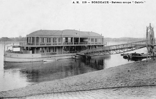 Bordeaux Osiris Bateau Soupe ©