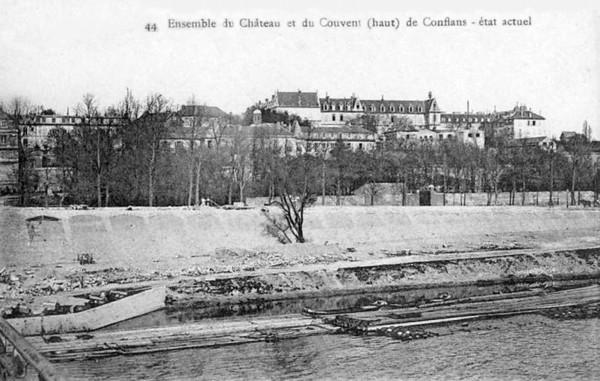 Bois Transport Conflans Château et Couvent  ©