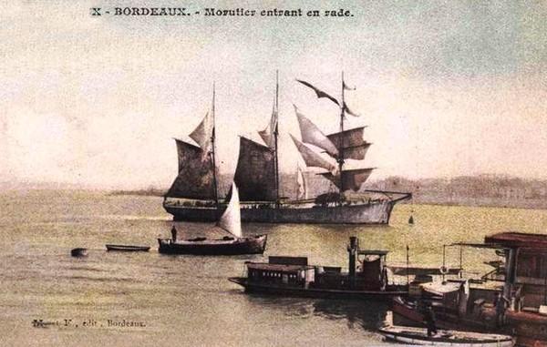 Bordeaux Morutier rentrant en rade ©