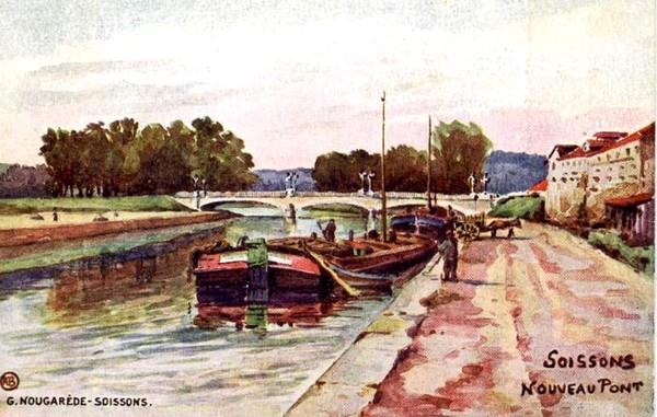 A . B -  Soissons le Nouveau Pont  ©