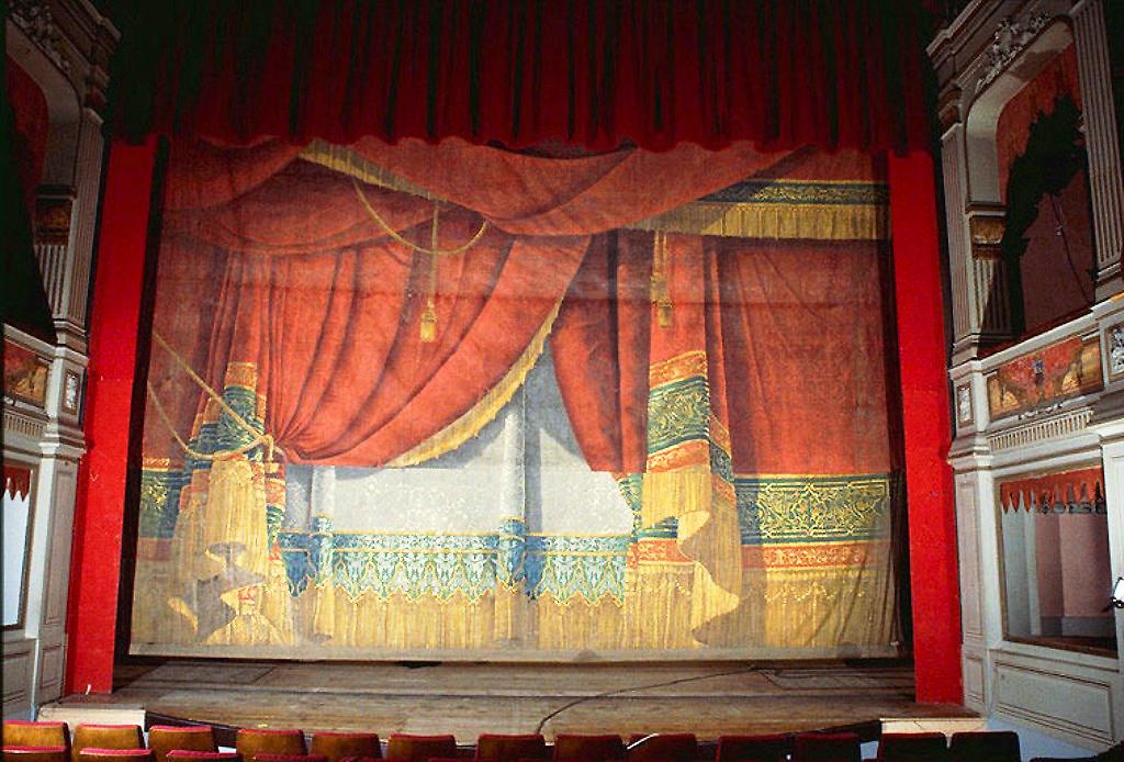 0269 theatre de gray 1846 1849 le rideau de sc 233 ne