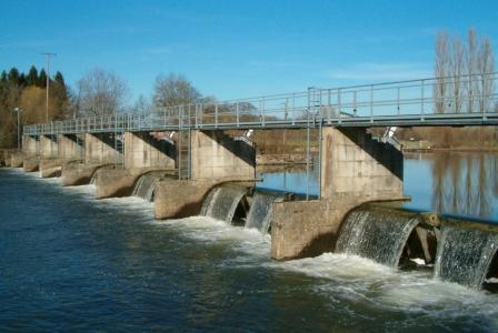 AMONT - Barrage de Rigny - Canal de dérivation
